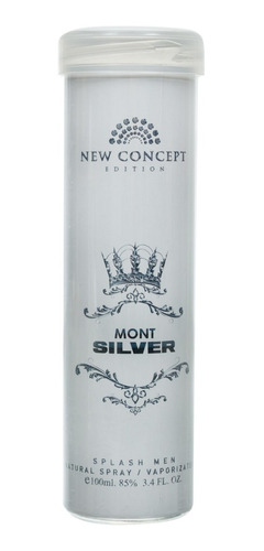 perfume mont silver men 100ml