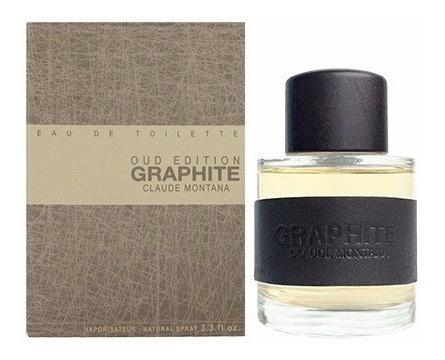 perfume montana graphite oud edition masculino 100ml edt