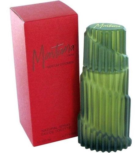 perfume montana red parfum d' homme masculino 125ml edt
