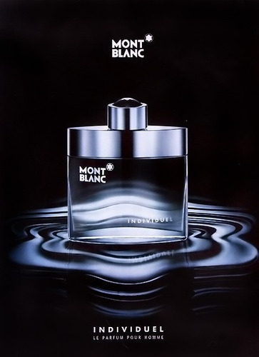 perfume montblanc individuel 100% orig - ml a $1599