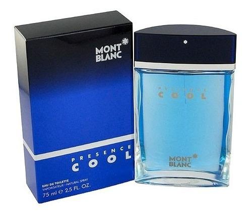 perfume montblanc presence cool 100% o - ml a $2132