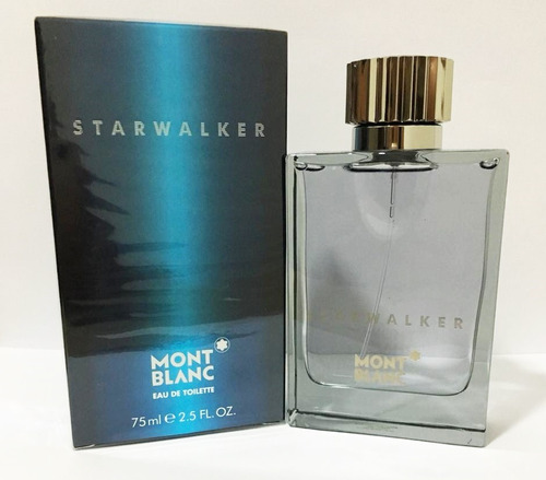 perfume montblanc starwalker 75ml original lacrado