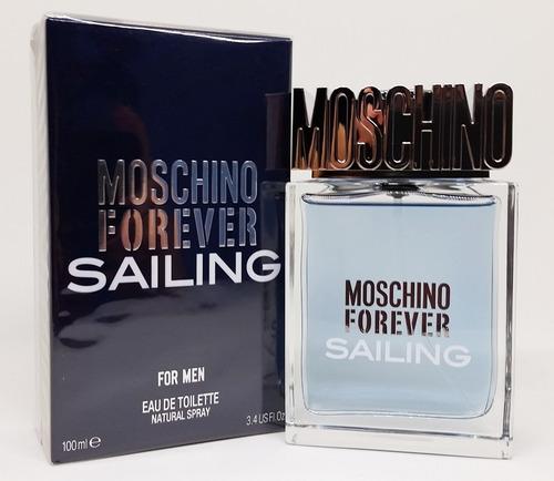 perfume moschino forever sailing  edt 100ml original