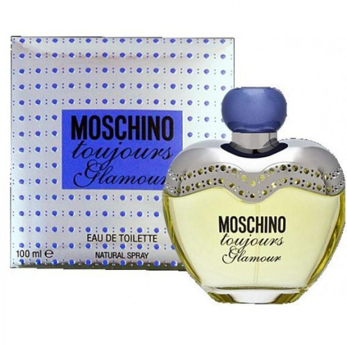 perfume moschino toujours glamour edt 100 ml mujer