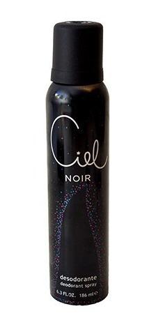 perfume mujer ciel noir edp spray 80ml + desodorante