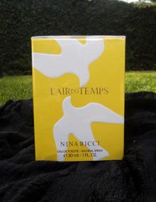 Perfume Mujer 30ml L'air Temps Nina Ricci Nuevo Du Original 6IbyYf7gv