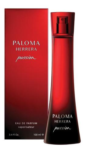 perfume mujer paloma herrera passion edp 100ml + desodorante