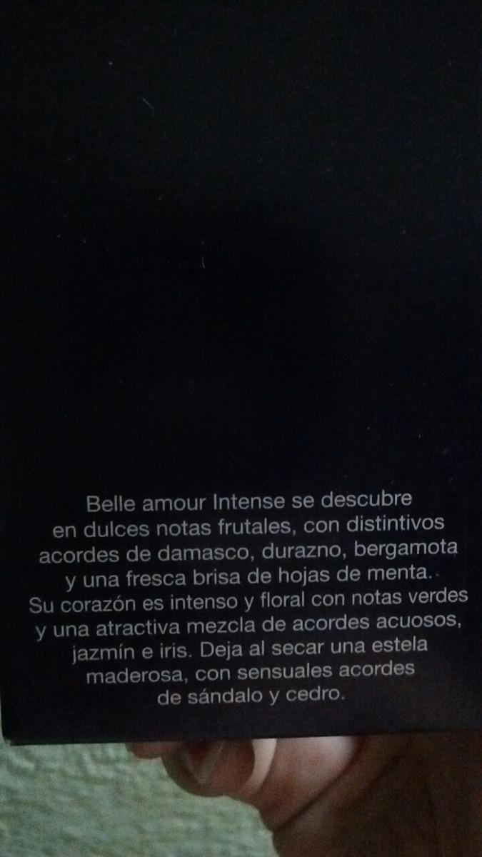 Perfume Mujer Tsu Belle Amour Intense Eau De Parfum Oferta 63900