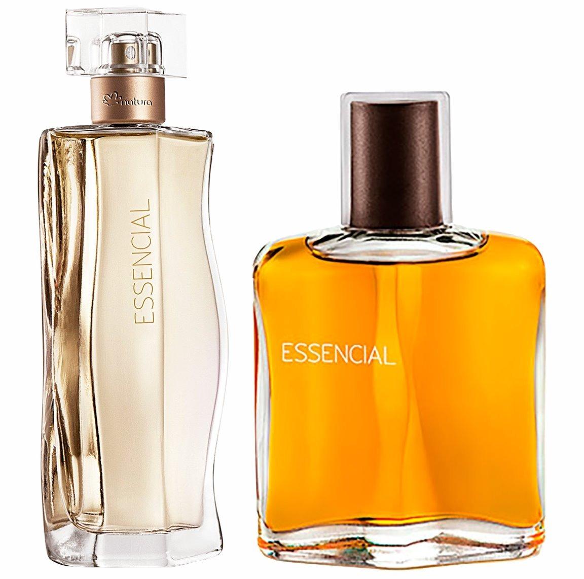 7d2b5963a6 perfume natura essencial feminino essencial masculino combo. Carregando zoom .
