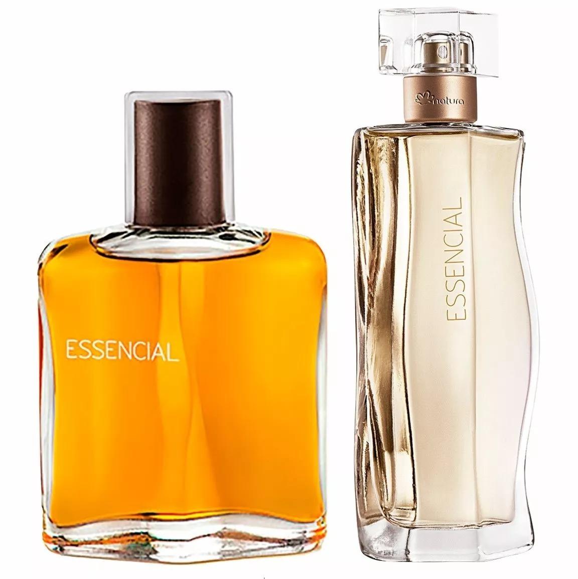 3766f0804f Kit Perfume Natura Essencial Masculino E Essencial Feminino - R  216 ...