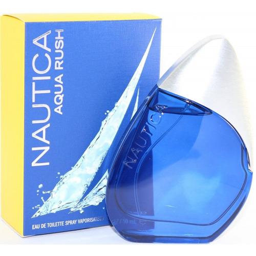 perfume nautica aqua rush de hombre 100 ml ...original