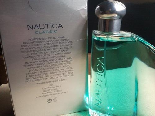 perfume nautica classic 100% original 100 ml   cod  68