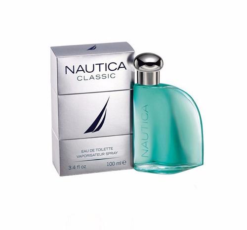 perfume nautica classic para caballeros 100ml original