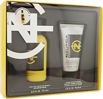 perfume  nautica competition de caballero set  original