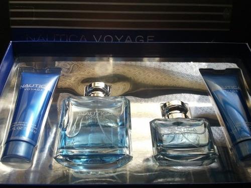 perfume nautica estuche  voyage 100% original