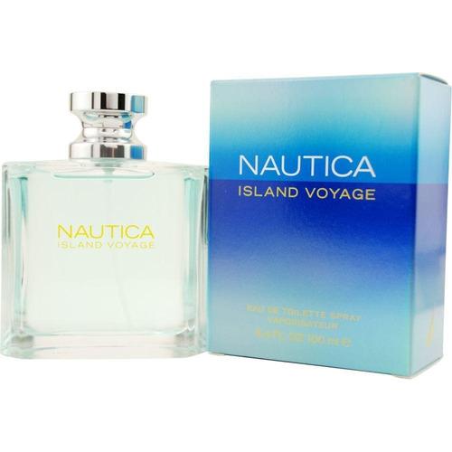 perfume nautica island voyage 100ml original 100%