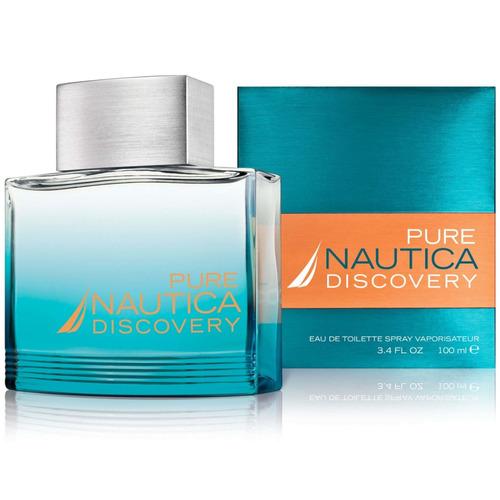 perfume nautica pure discovery 100ml original
