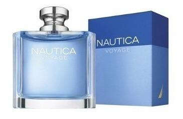 perfume náutica voyage 100ml, caballero, 100% originales