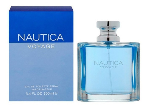 perfume nautica voyage para caballeros 100ml.