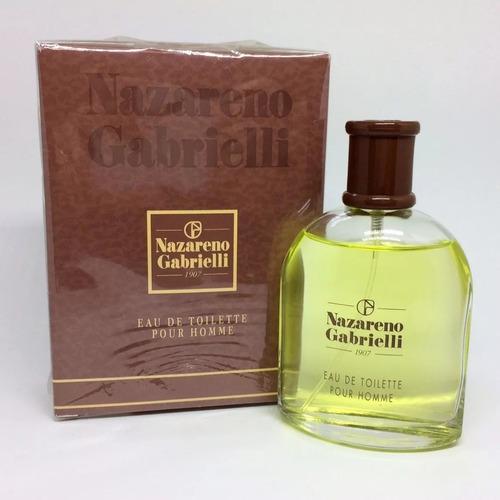 perfume nazareno gabrielli 100ml pour homme 12x sem juros.