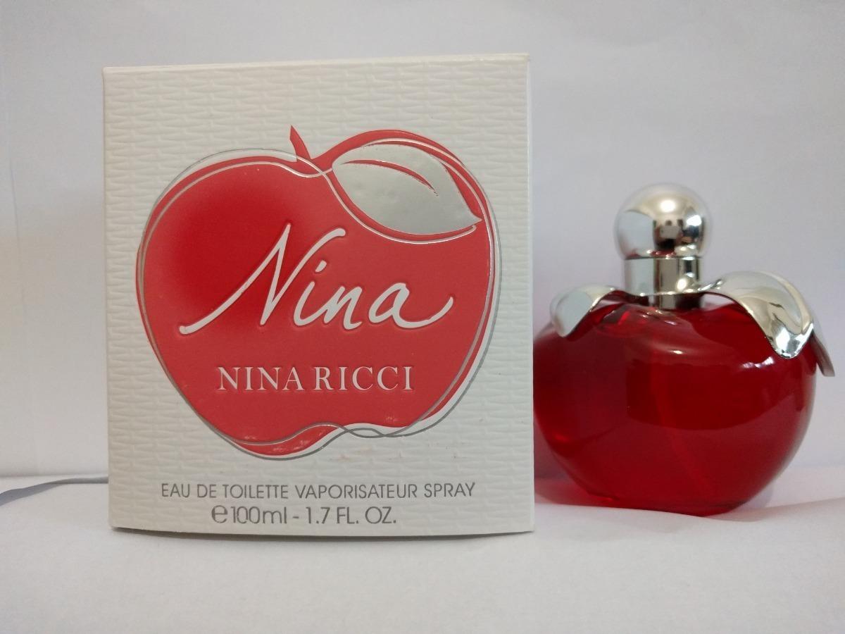 Perfume Nina De Nina Ricci 100ml Dama Saldo Original 67000 En