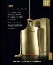 perfume ohm clasica dorada y ohm black unique