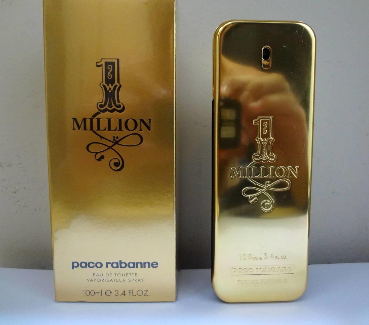 83df0946a7 perfume one million 100ml - paco rabanne - video original. Carregando zoom.