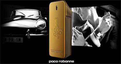 perfume one million - 200ml original