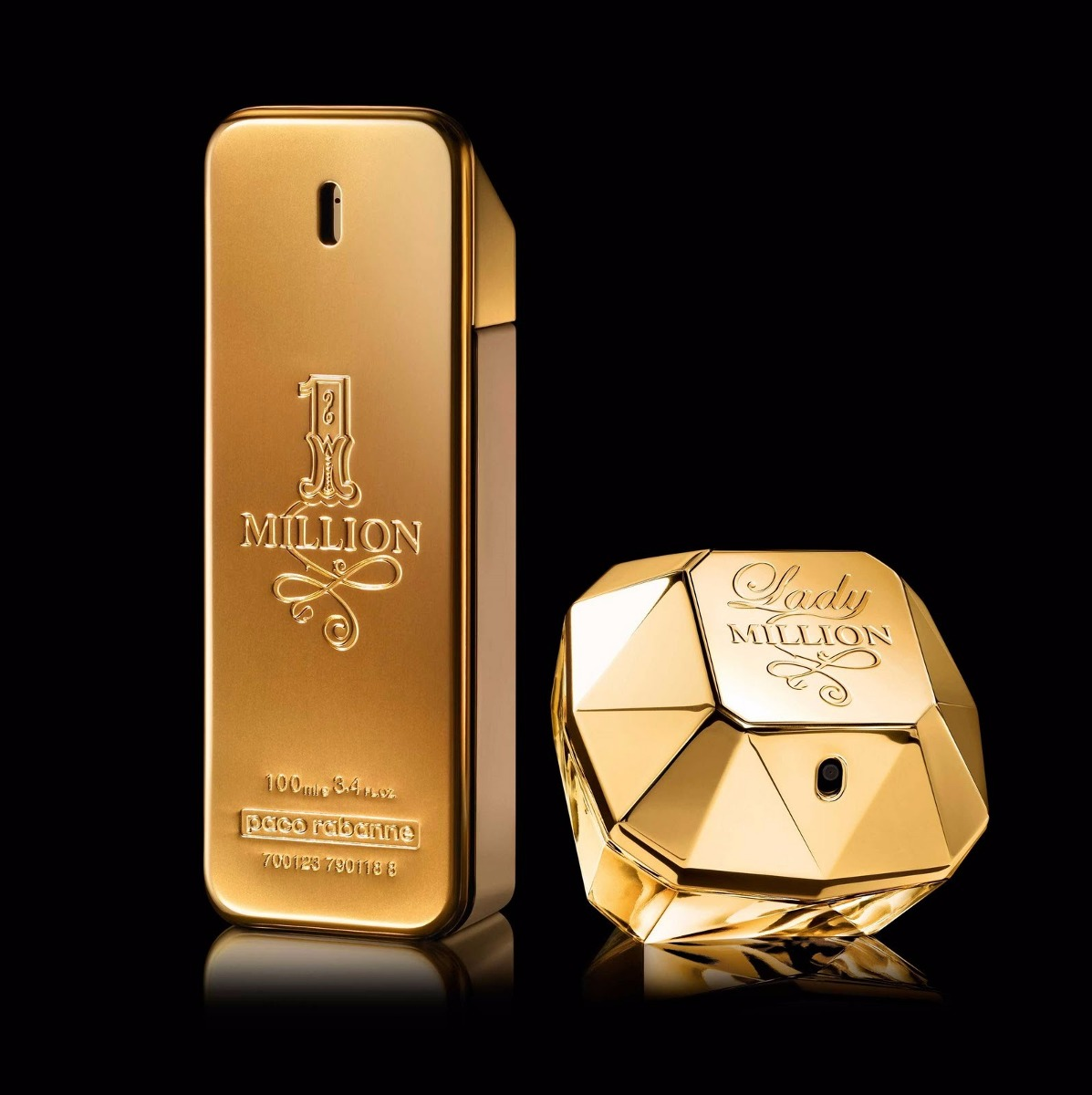 Perfume one million and lady million by paco rabanne bs for Paco by paco rabanne