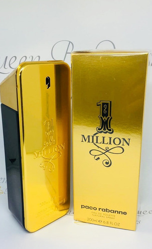 perfume one million edt 200ml - 100% original + amostra
