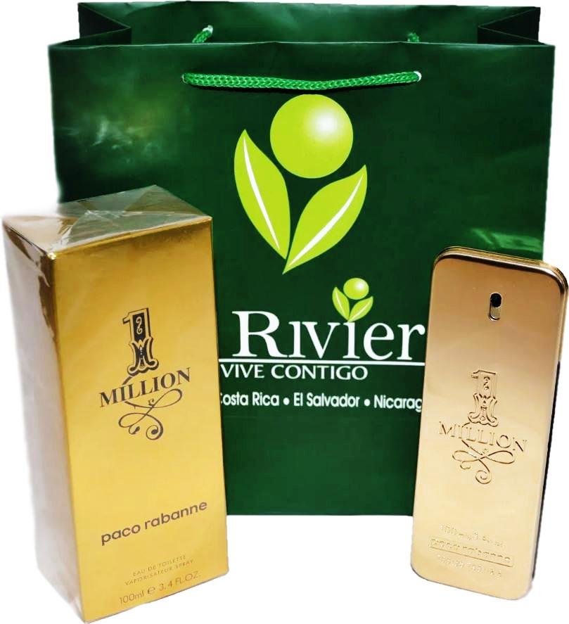 2b76c984a5a perfume one million original ¦ promoción ® la riviera 100ml. Cargando zoom.