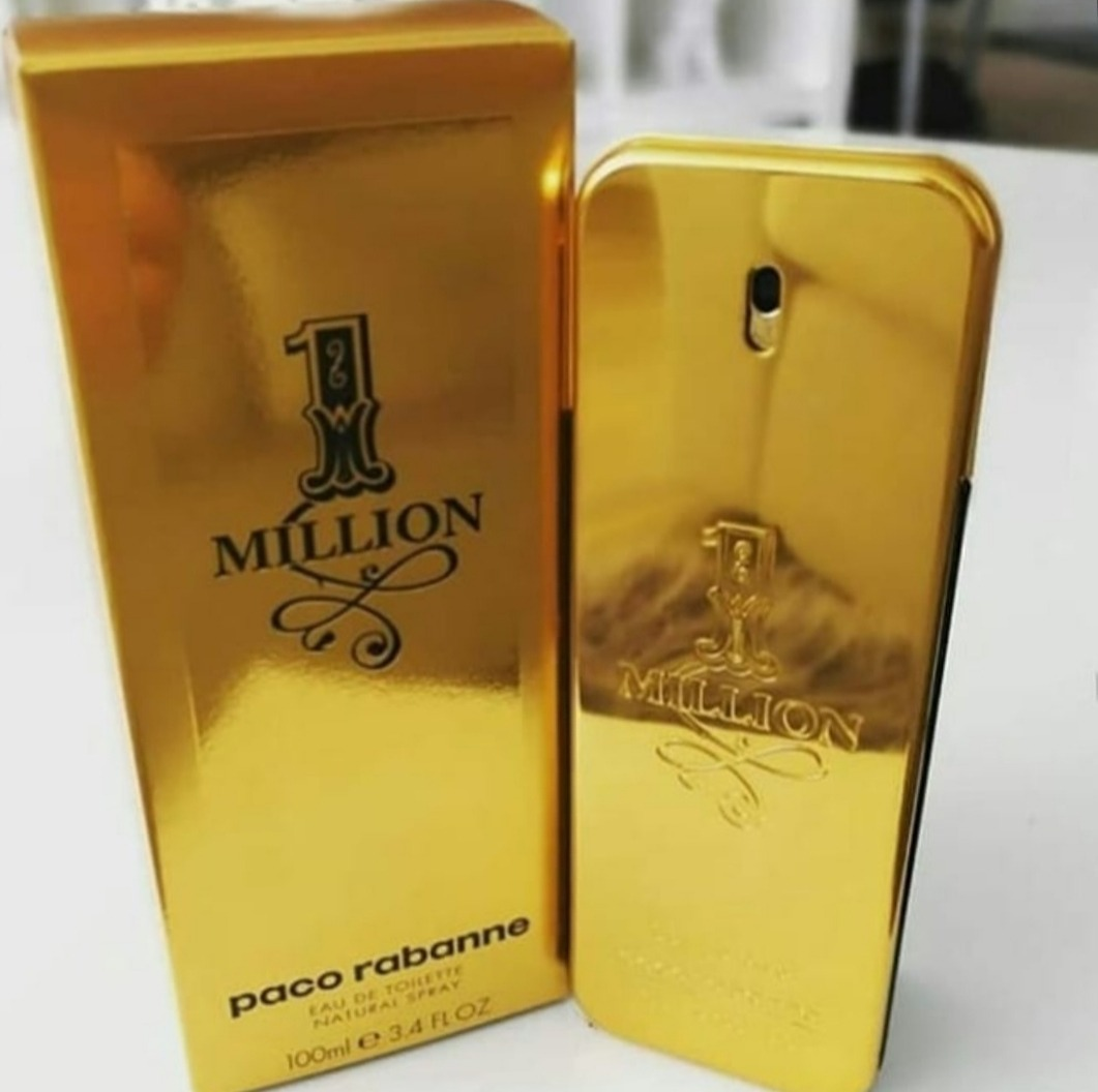 ed4b5c703 perfume one million paco rabanne 100ml - original lacrado. Carregando zoom.