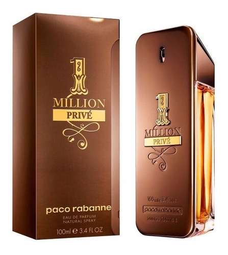 perfume one million prive by paco rabanne 100 ml men