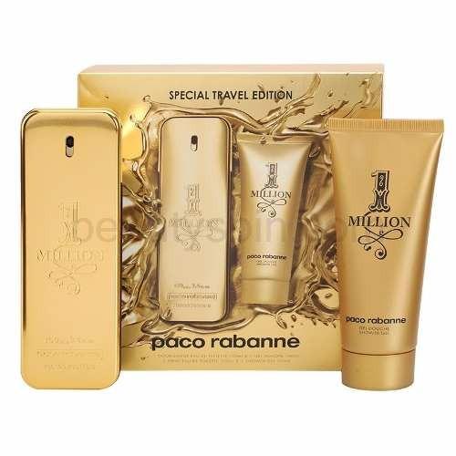 perfume one million set x 2 paco rabanne men