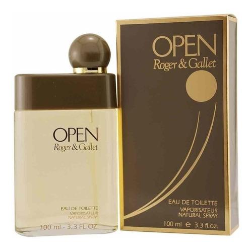 perfume open roger & gallet edt 100ml original lacrado.