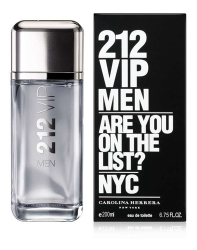 perfume original 212 vip men 200 ml ca - ml a $1200