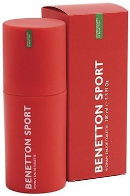 perfume original benetton sport mujer 100 ml envio hoy
