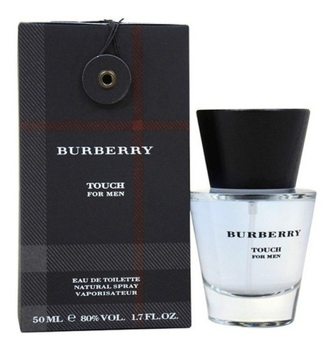 perfume original burberry touch for men 50 ml / superstore