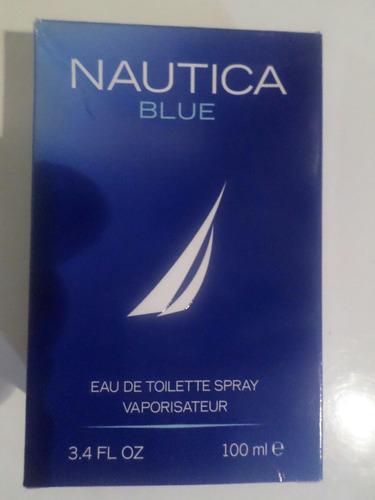 perfume original caballero nautica blue nueva