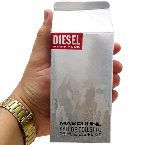 perfume original diesel plus plus hombre 75 ml envio hoy