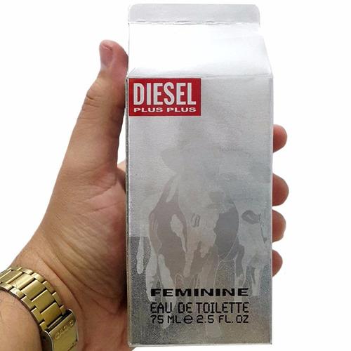perfume original diesel plus plus mujer 75 ml envio hoy
