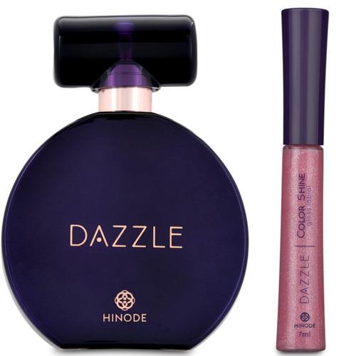 perfume original + gloss labial perfeito p/ você mulher 7
