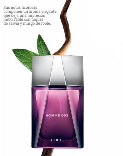 perfume original homme 033, caballero 100ml, l´bel