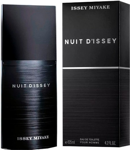 perfume original issey miyake nuit hombre 125 ml envio hoy