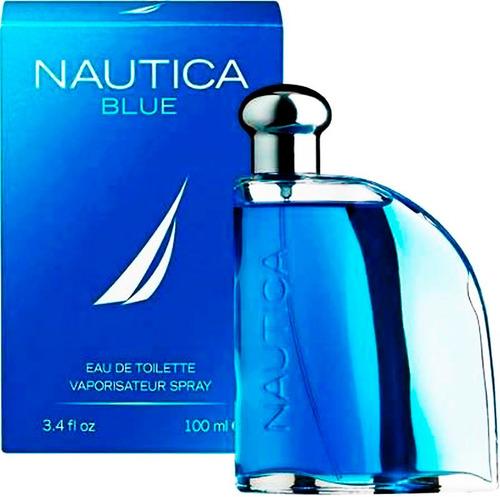 perfume original nautica blue hombre 100 ml envio hoy