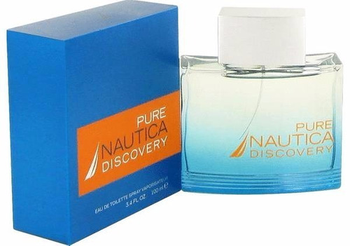 perfume original nautica pure discovery 3.4 oz men