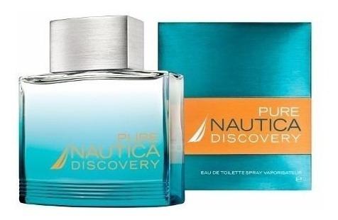 perfume original nautica pure discovery 3.4 oz men