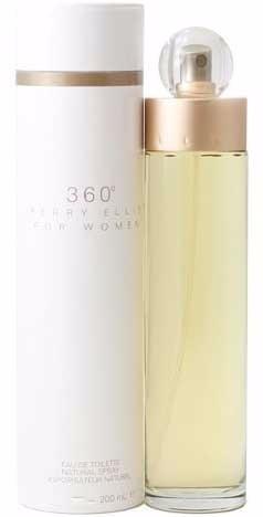 perfume original perry ellis 360° mujer 200 ml envio hoy