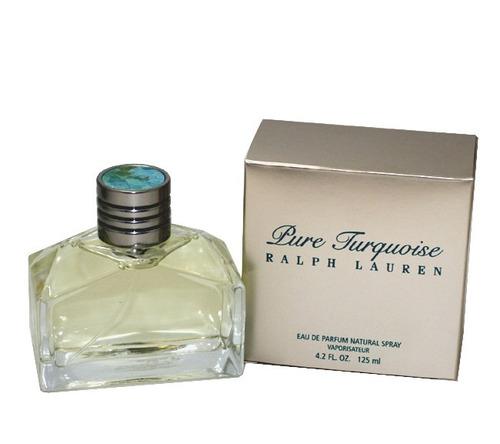 perfume original ralp lauren turquoise. ¡rematando!