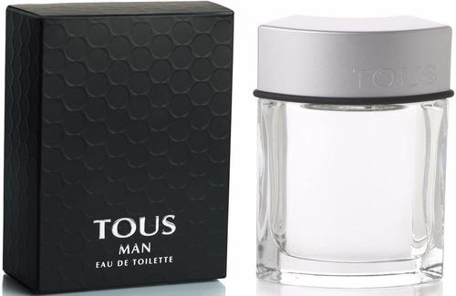 perfume original tous man hombre 100 ml envio hoy
